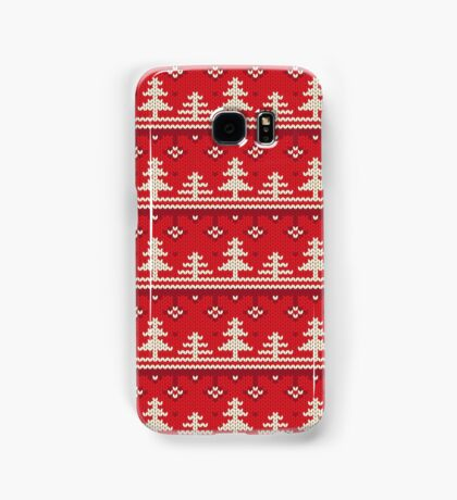 Knitted Christmas Pattern Samsung Galaxy Case/Skin