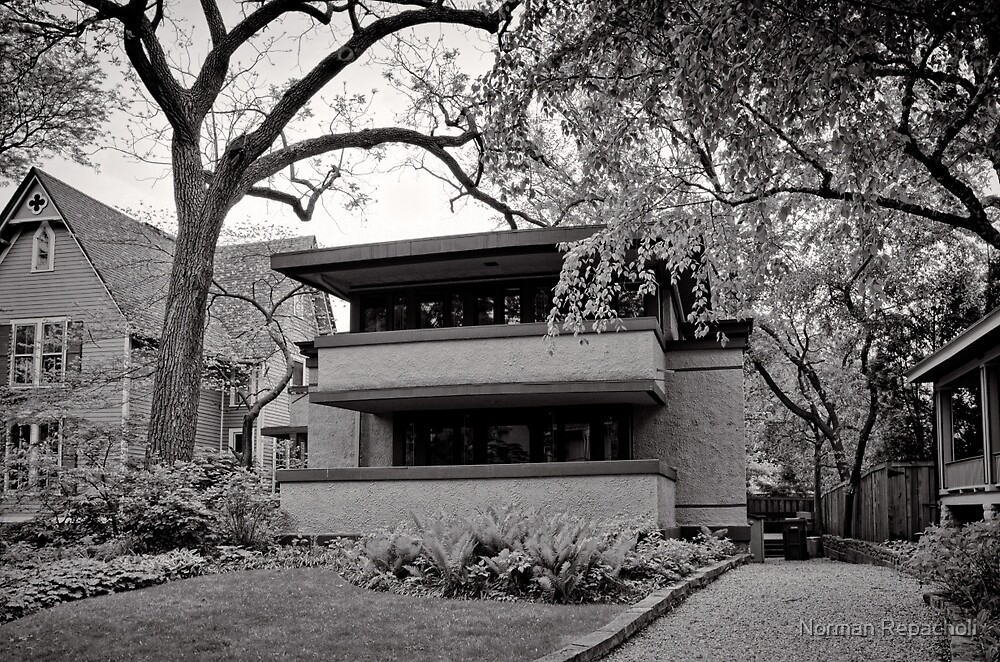 Layers of Oak Park, Chicago USA by Norman Repacholi
