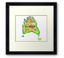 Tasmania's Revenge Framed Print