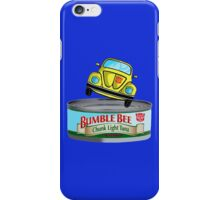 Transformers G1 Bumblebee Tuna iPhone Case/Skin