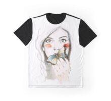 BUTTERFLIES STOMACH Graphic T-Shirt
