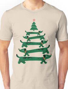 Dachshund Christmas Tree Unisex T-Shirt