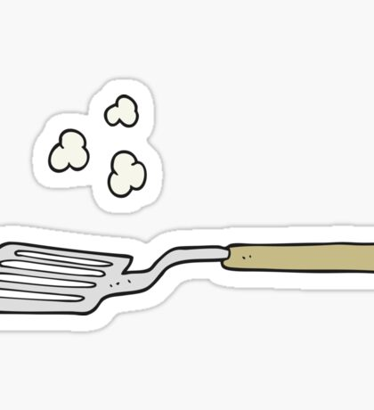 cartoon spatula Sticker