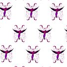 Pink Parrot (Pattern) by Adamzworld