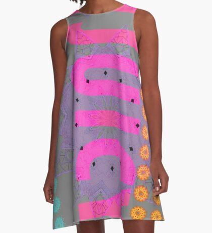 Juicy Crane 4 A-Line Dress