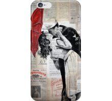 kiss iPhone Case/Skin