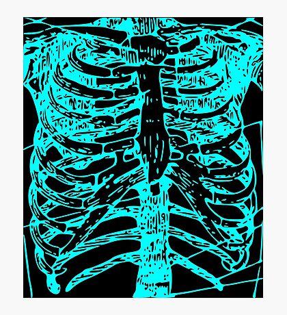 Anatomy: Torso Ver.Aqua Photographic Print