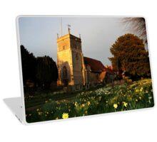 St Mary's Church Bucklebury Laptop Skin