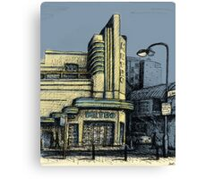 The Metro (Minerva) Theatre, Potts Point Home of Dr D Studios, Kennedy/Miller/Mitchell production company Canvas Print