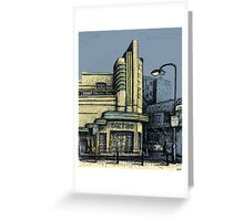 The Metro (Minerva) Theatre, Potts Point Home of Dr D Studios, Kennedy/Miller/Mitchell production company Greeting Card