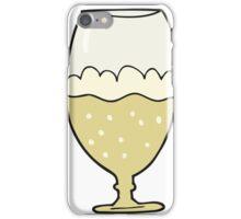 cartoon beer in glass iPhone Case/Skin