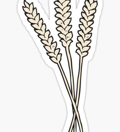 cartoon wheat Sticker