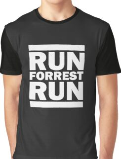Run Forest run Funny Graphic T-Shirt