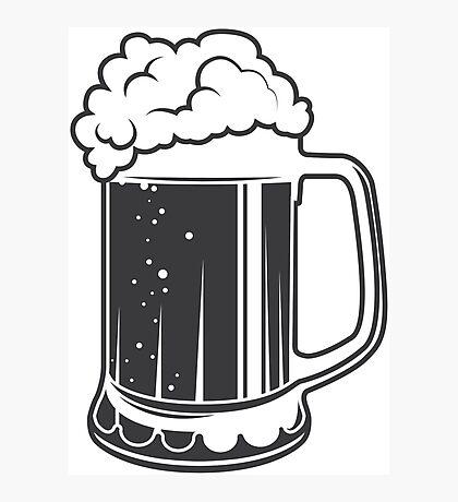 Mug beer Photographic Print