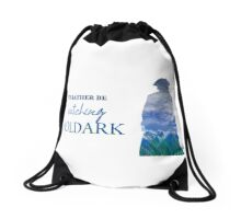 I'd Rather be watching Poldark Drawstring Bag