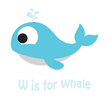 W is for Whale by Eggtooth