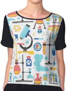 Chemistry laboratory equipment  Chiffon Top