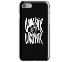 Gangsta Wrapper - Funny Christmas  iPhone Case/Skin