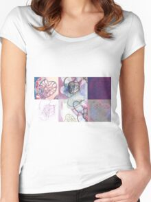 Affairs of the Heart Medley Women's Fitted Scoop T-Shirt