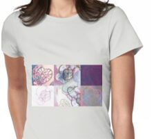 Affairs of the Heart Medley Womens Fitted T-Shirt