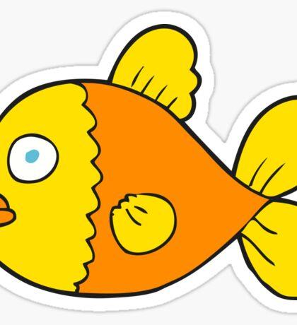 cartoon fish Sticker