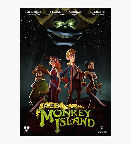 Monkey Island 5  Photographic Print