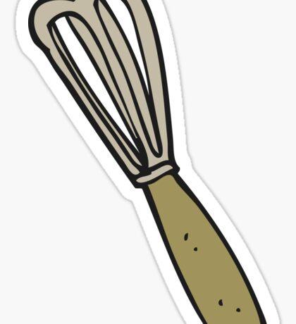 cartoon whisk Sticker