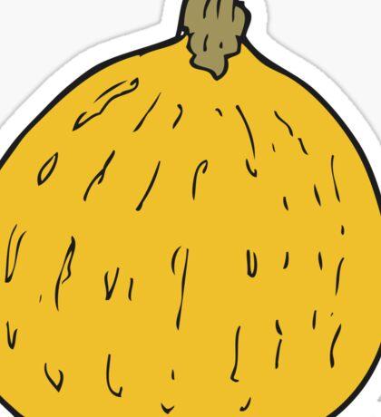 cartoon squash Sticker