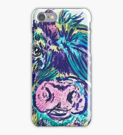 RAINBOW COW iPhone Case/Skin