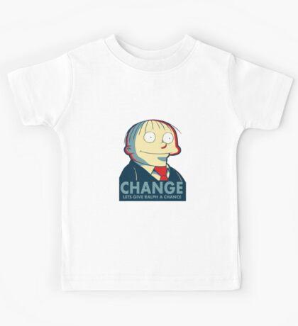 Ralph Wiggum for President 2016 Kids Tee