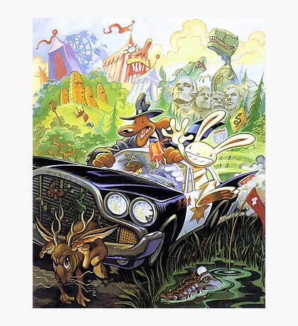 Sam & Max Photographic Print