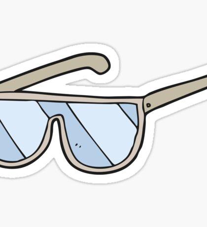 cartoon spectacles Sticker