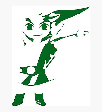 Link - Zelda Wind Waker Photographic Print