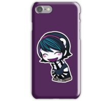Anna Blue fun Sticker iPhone Case/Skin