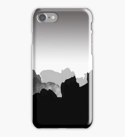 Concept Piece - Knight on Rocky Mountains iPhone Case/Skin