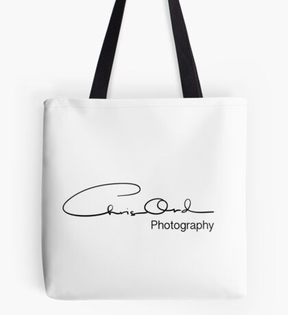Chris Ord Photography Black Tote Bag