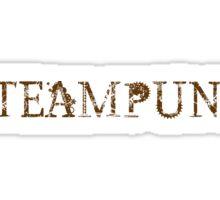 Steampunk Font Text Sticker