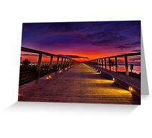 """Dawn Promenade"" Greeting Card"