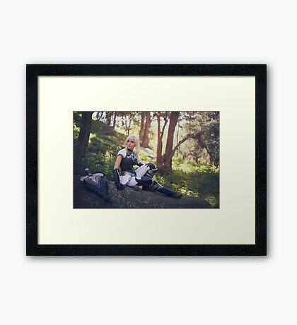 Riven III Framed Print