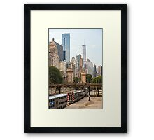 Chicago Transportation Framed Print