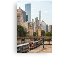 Chicago Transportation Canvas Print