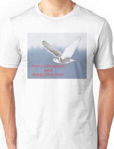 Christmas Snowy Owl T-Shirt