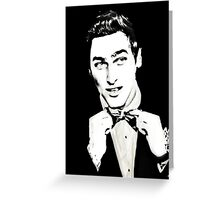 Bow Tie Kendall Greeting Card