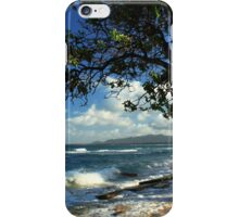 The Beach At Kapaa iPhone Case/Skin