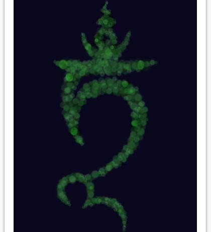 Green Tara Seed Syllable (TAM) Sticker