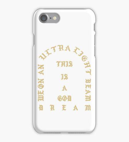 Kanye West - Life of Pablo, Ultralight beam merch (Kanye West, Yeezy) iPhone Case/Skin