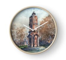 Clock Tower, Preston Park. by Edward Scale Clock