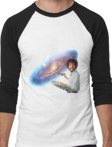 The Bob Ross Galaxy Men's Baseball ¾ T-Shirt