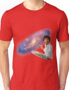 The Bob Ross Galaxy Unisex T-Shirt