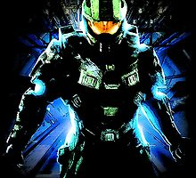Halo Chief by WCPerryAndrez
